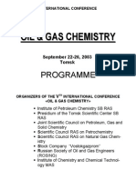 Oil & Gas Chemistry