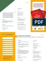 Programa de los cursos ''Nuevo reglamento de extranjería' y 'Modelo de Informes'