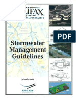 Canada; Stormwater Management Guidelines - Halifax