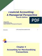 Ch04 4th Ed Financial Accounting Narayanaswamy