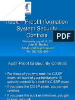 01 Information Security Controls 08-17-10