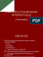 FIBROZELE PULMONARE INTERSTITIALE