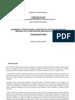 Lineamientos técnicos Entidades Aseguradoras de Planes de Beneficio