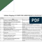 Syllabus Mapping