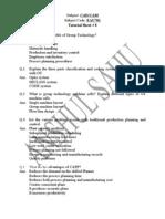Tutorial Sheet 8
