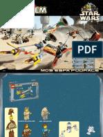 LEGO Mos Espa Podrace Instruction Manual 7171
