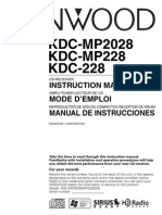 Manual Kdc Mp2028