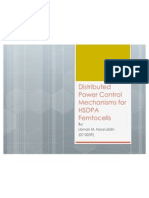 Distributed Power Control Mechanisms for HSDPA Femtocells Presentation