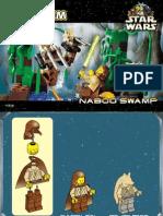 LEGO Naboo Swamp Instruction Manual 7121