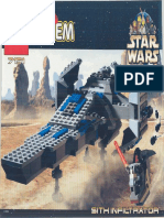 LEGO Sith Infiltrator Instruction Manual 7151