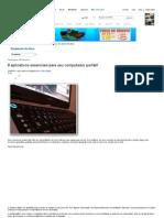 8 aplicativos essenciais para seu computador portátil - Download da Hora - INFO Online