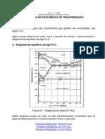 Diagrama de Equilibrio Fe-C