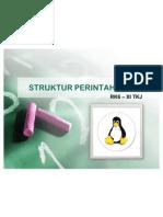 Pertemuan 3 - Struktur Perintah Linux