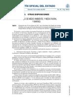 Impacto ambiental aprobación PARQUE ELÉCTRICO MARINO de SANTOÑA (Cantabria-España)