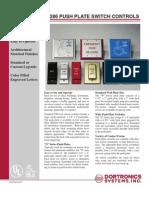 Dortronics W5286-P23DAXE1 Pneumatic Button Ds