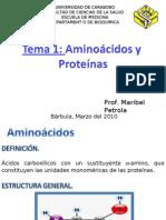 Aminoácidos. Clase 1