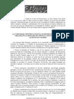 Manifiesto por Tindaya de los catedráticos canarios