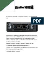 Diagnostico de La Clarion DXZ 588 Usb
