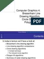 Graphics6-BresenhamCirclesAndPolygons