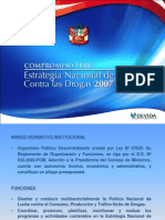Presentacion Estrategia Nacional 2007 2011 (DEVIDA)