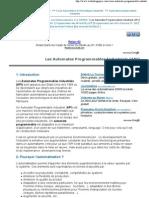Automates Programmables Industriels (API