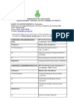 UFRN oferece vagas para Prof. Auxiliar Pediatria Geral