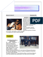 Boletín Pastoral Diciembre 2011