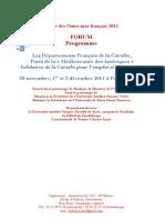 """Les départements français de la Caraïbe, Ports de la """"Méditerranée des Amériques"""" solidaires de la Caraïbe pour l'emploi et la formation"""