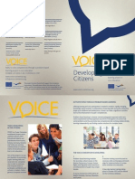 VOICE Flyer in English