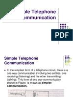 Simple Telecom System