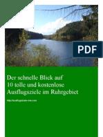 Ausflugstipps für das Ruhrgebiet