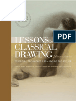 Lessons in Classical Drawing by Juliette Aristides - Excerpt