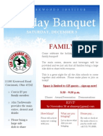 Ahn Holiday 2011 Banquet
