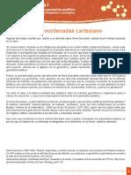 El Sistema de Coordenadas Cartesiano