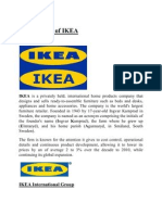 Ikea Company Assignment of Rm