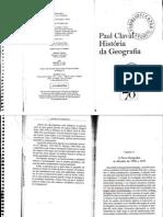 Paul Claval - História da Geografia