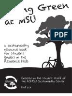 Montana; Living Green MSU