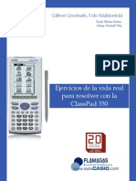 PDF Ejercicios de La Vida Real Para Resolver Con La ClassPad 330 20