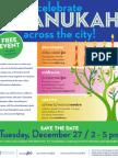 Celebrate Chanukah Across the City