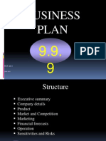 999 Presentation Business Plan