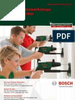 Katalog Bosch Werkzeug (grün)