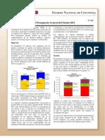Coy 125 - El Presupuesto General Del Estado 2012
