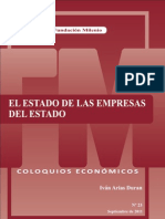 Coloquio económico Nº 23, El estado de las empresas del estado-1
