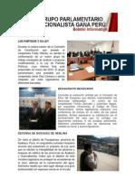 Bancada Nacionalista Gana Perú - Boletin Nº 04