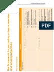 Science Framework Learning Objectives