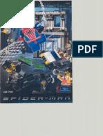 LEGO Spider-Man Action Studio Instruction Manual 1376