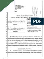 Occupy Los Angeles VerfiedComplaint