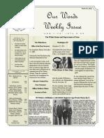 Newsletter Volume 3 Issue 48