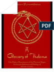 'A Glossary of Thelema' cover
