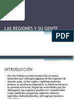 Las Regiones y Su Gente